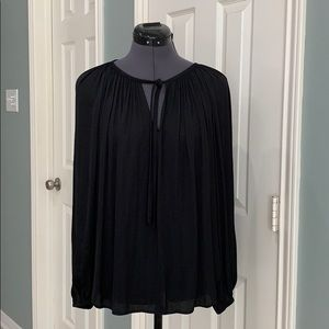 Jennifer Lopez Black Tie Collection, black blouse
